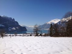 Our #winter-warmth tip for this week is a #snowshoe trek in #Brienz.