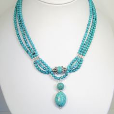 Turquoise Jewelry Product | You are here: > Home > Archive > Turquoise Pendant Necklace - SOLD