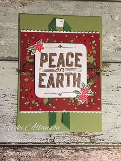 Carols for Christmas.  Cased from Stampin Up