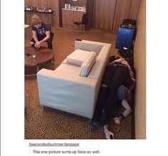 is ashton sitting on a chair???? or is he squatting???? no wonder his legs looks gr8!