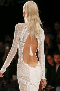Roberto Cavalli | Milan #back #dentelle #dos #laces #blanc #white