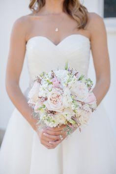 pastel rose bouquet