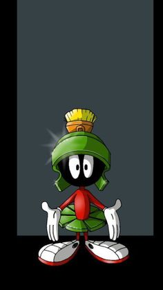 Marvin the Martian Looney Tunes Characters, Classic Cartoon Characters, Looney Tunes Cartoons, Favorite Cartoon Character, Old Cartoons, Classic Cartoons, Funny Cartoons, Cartoon Art, Cartoon Illustrations
