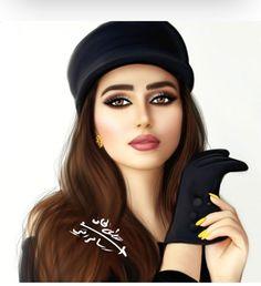 Cute Girl Pic, Stylish Girl Pic, Cute Girls, Girly Drawings, Art Drawings, Sarra Art, Fantasy Magic, Girly M, Cute Girl Drawing
