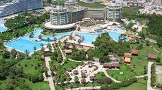 Hotel Rixos Lares, Kemer, Antalya, Turcia Antalya, Great Hotel, Paris Skyline, Dolores Park, Mansions, House Styles, Holiday, Travel, Greece