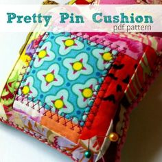 Pretty Pincushion | YouCanMakeThis.com