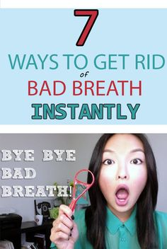 7 WAYS TO GET RID OF BAD BREATH INSTANTLY | Your Health Matters For Us