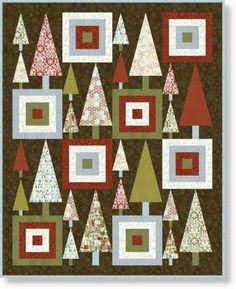 Christmas tree quilt.