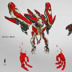 A portion of my concept for the Avatus raid boss in Wildstar. #Avatus #wildstar #mmorpg #scifi #art #digitalart #robot #instaart #instagood #character #mech #digitalpainting #gaming by korylynnhubbell