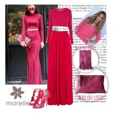"""""""morelle 5"""" by fahreta1992 ❤ liked on Polyvore featuring Needle & Thread, Century Seven, Kurt Geiger and Jennifer Lopez"""