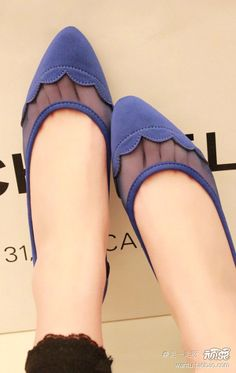 TLSS sweet spring models wavy fabric mesh hollow edge stitching perspective effect pointed flat shoes Women's Shoes Shoe Boots, Shoes Sandals, Shoe Bag, Heels, Flat Shoes, Pointed Flats, Only Shoes, Wholesale Shoes, Womens Flats
