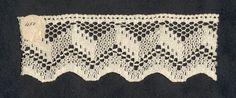 Quaker Lace sample. Kensington, Philadelphia, PA. Early 20th century via the Design Center