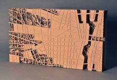 urban organism concept model 2 2010 cardboard model on MDF x x Architecture Design, Architecture Model Making, Architecture Mapping, Landscape Architecture Drawing, Architectural Sculpture, Architectural Models, Cardboard Model, Urban Concept, Landscape Model