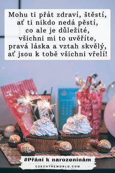 🥇 100 nejlepších přání k narozeninám, která potěší každého! Place Cards, Birthday Cake, Place Card Holders, Table Decorations, Desserts, Diy, Food, Tailgate Desserts, Deserts