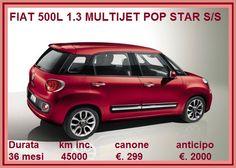 FIAT 500L 1.3 MULTIJET POP STAR S/S Diesel - . La nuova Fiat 500L è finalmente arrivata a contrastare il predominio della Mini Countryman. Un prodotto nuovo nello stile e nella tecnologia, con motori parchi nei consumi ed allestimenti molto chic(c'è perfino la...