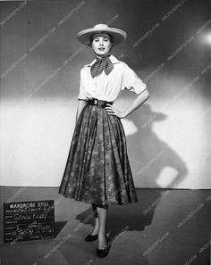 photo Grace Kelly wardrobe slate shot film Green Fire 856-33