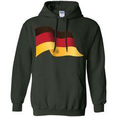 germany flag 1-01 Pullover Hoodie 8 oz