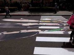 17 creative zebra crossings Check them all at: http://illusionofboredom.com/17-remarkable-creative-zebra-crossings/