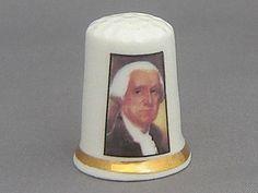 Finsbury Thimble - US President George Washington