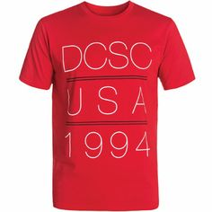 DC-t-paita Logos, Mens Tops, T Shirt, Supreme T Shirt, Tee Shirt, Logo, Tee