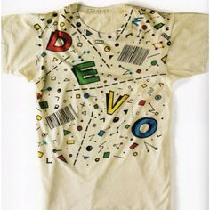DEVO 80's T-shirts from RIPPED T-shirts from the underground http://lilmag.org/?pid=23237875
