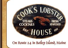 Travel out to Bailey Island and visit Cooks.  Great Lobster!  Love it... visit every time I'm in Maine.