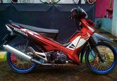 20 Ide Seni Modif Supra X 125 Seni Sepeda Motor Honda