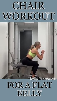 Side to side push ups are a challenging however efficient weight-loss workout. This video goes through a version of the workout for novices and a more sophisticated version of the exercise. At Home Workout Plan, At Home Workouts, Workout Bauch, Chair Exercises, Fitness Workout For Women, Senior Fitness, Workout For Beginners, Easy Workouts, Workout Challenge