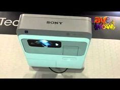 Sony Intros Interactive Ultra Short Throw Projector, = uses ebeam to make it interactive  =  ProAV... GovComm 2011: