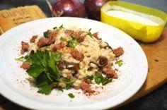 Risotto con salsiccia e olive http://www.ledolciricette.it/2014/05/22/risotto-con-salsiccia-e-olive/15812