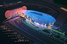 ⓨⓐⓢ ⓜⓐⓡⓘⓝⓐ ⓒⓘⓡⓤⓘⓣ ALOJADO EN ABU-DHABIS EL PRINCIPAL RECINTO DEPORTIVO DE LOS EMIRATOS ARABES, FUE INAUGURADO EN  PARA EL GRAND PRIX DE ABU DHABI Y CUENTA CON 5.524 KM DE LONGITUD
