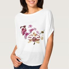 #pink - #Phalaenopsis Orchid Flower Bouquet T-Shirt