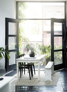 dining rooms that double as workspace / sfgirlbybay