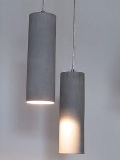Industriele betonnen lamp industrial interior: beton #beton