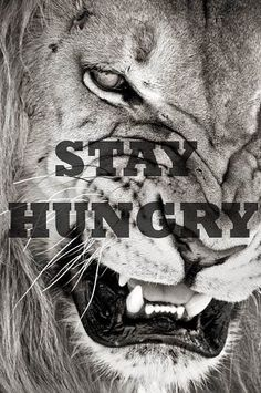 hunger for what you want
