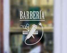 . Vinilos adhesivos para Barberías Barbería Clásica 04370