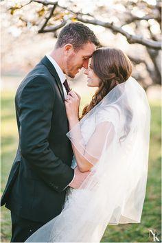 Utah Orchard Bridals | Groomals | www.nhiyakayephotography.com | Spring wedding