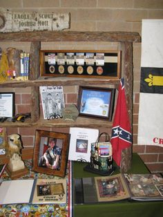 boy scout display table images | Eagle Scout Court of Honor Tablescape | The Apple of His Eye