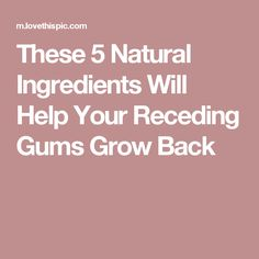 how to help your gums