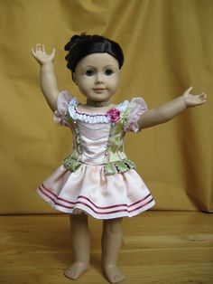 "AG, American Girl 18"" Doll Couture Blog. Cute Ballet Dance Outfit. Inspiration"
