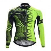 Long Sleeve Mens Winter Thermal Cycling Jersey 498b71dbd