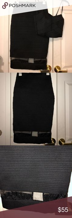 Express two piece skirt and top. Express two piece skirt and top.  Worn once. Excellent condition. Express Skirts Pencil