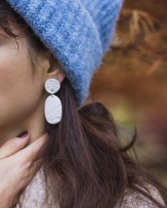 Nube Statement earring Lightweight handcrafted &