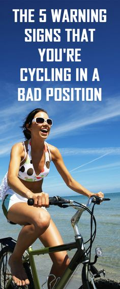 The 5 warning signs that you're cycling in a bad position.  #cyclingposition #cycling #bike