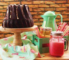 Desirvientadas: Cava & Chocolate Bundt Cake