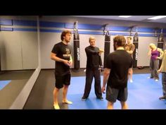 Krav Maga Reborn Third Party Gun Defense - YouTube