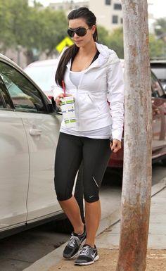 Kim Kardashian - Kim Kardashian Getting A Smoothie After A Hard Workout