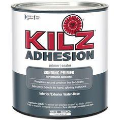 KILZ 1-Qt. Adhesion Bonding Primer-L211104 - The Home Depot For priming the kitchen cabinets