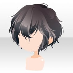 Drawing Hairstyle - Hairstyle Items on the CocoPPa Play Wiki. It is recommended that you view this page on desktop. Guy Drawing, Drawing Reference, Boy Hair Drawing, Manga Hair, Anime Hair Male, Anime Hairstyles Male, Drawing Hairstyles, Pelo Anime, Chibi Hair