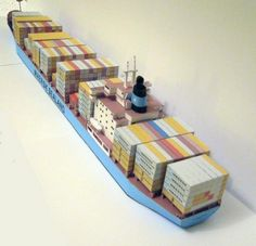 Papercraft Ships | paper card ship models
